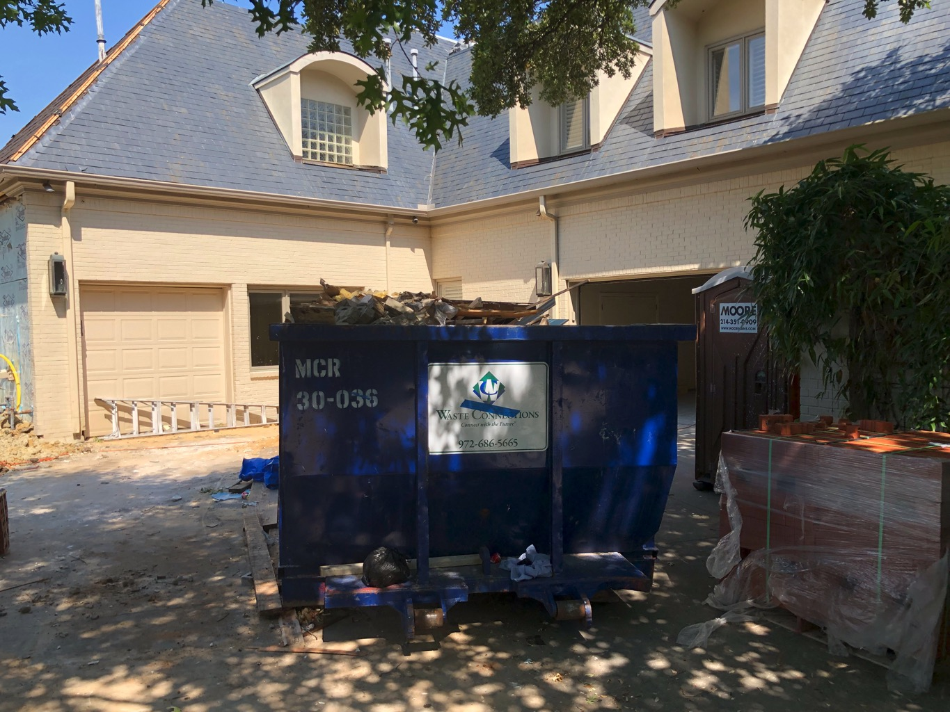 %name Large Corner Mansion Rough Post Construction Cleaning in Dallas, TX