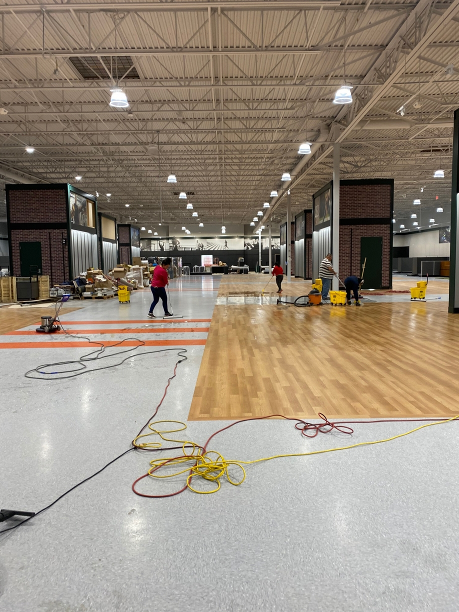 %name Dick's Sports Floors Stripping, Sealing and Waxing in Lewisville, TX