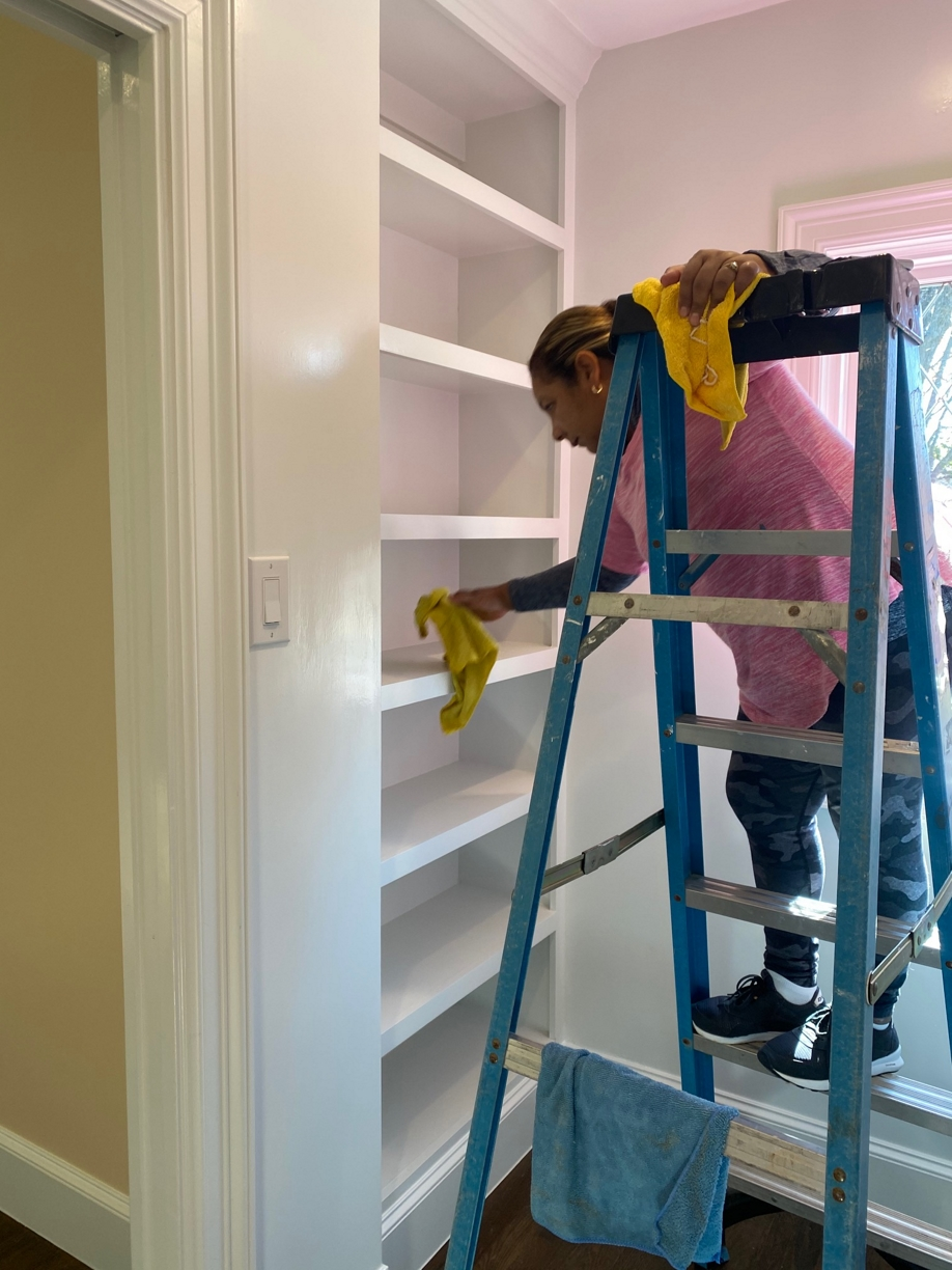 %name Large House Final Post Construction Cleaning in Highland Park, TX