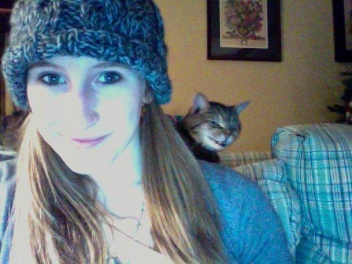 Photobooth Photo Bomb By My Cat...