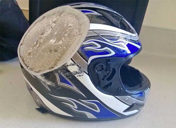 And This, Kids, Is Why You Wear A Freakin Helmet