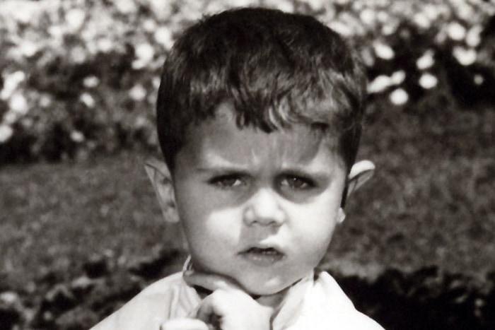 Bashar al-Assad As A Kid, Now The President Of Syria