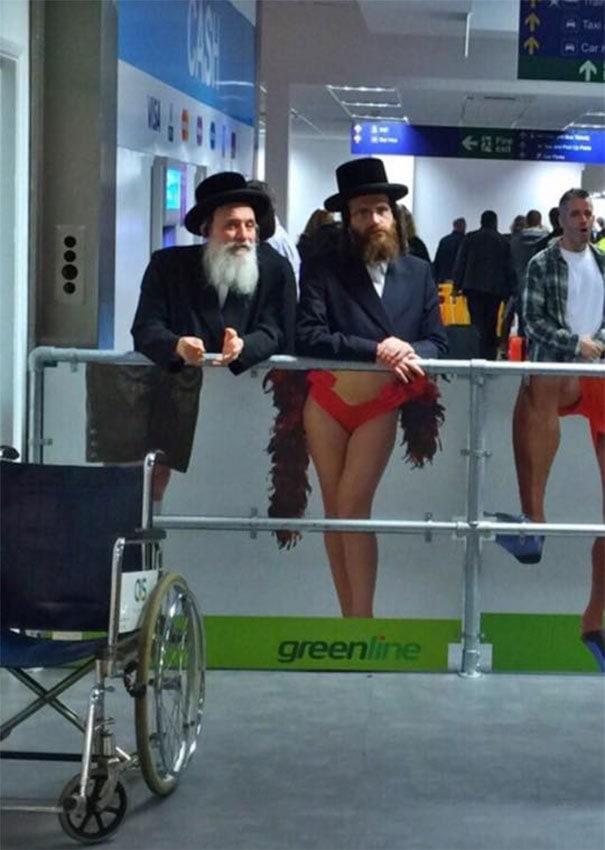 Визит в аэропорту в Тель-Авиве, Израиль