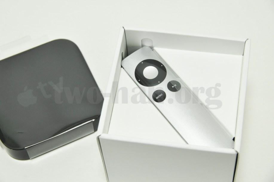 AppleTV-MD199J/開封の儀2