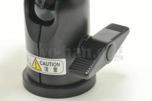 Velbon 自由雲台 クイックシュー装備 QHD-63Q/雲台ロックレバー3