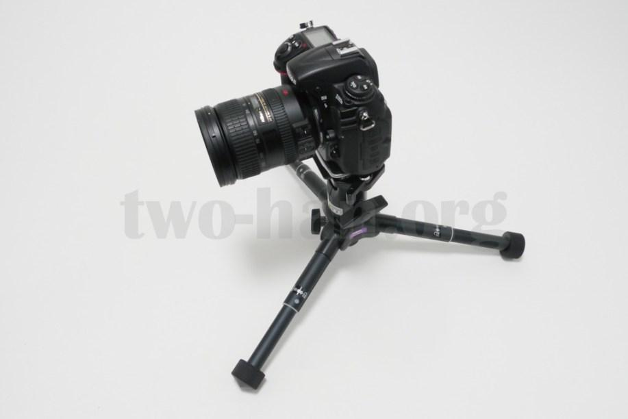 Velbon 自由雲台 クイックシュー装備 QHD-63Q/D300s & 18-200mm-5