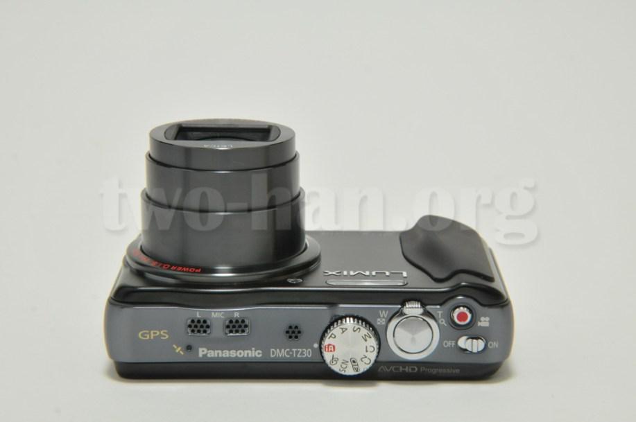 Panasonic LUMIX DMC-TZ30-K・レンズの標準状態