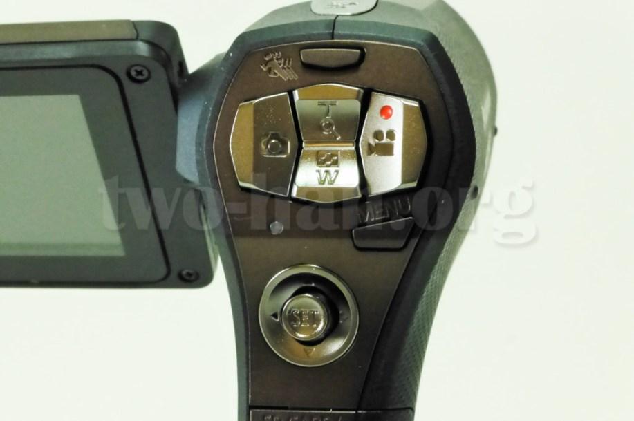 Panasonic HX-WA30・ボタン操作部