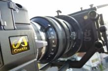 CineAlta 4Kカメラ PMW-F55、シネアルタ〜〜〜!