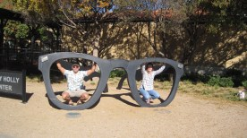 Do we look good in Buddy Holly glasses?