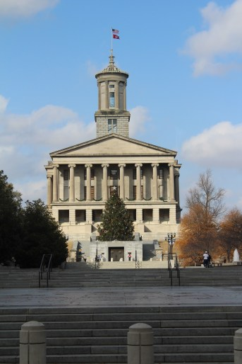 Tennessee Capitol building as seen on our tour.