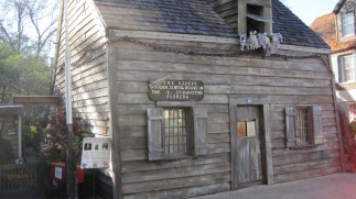 They even had a piece of history among the shops, this touted as the oldest wooden schoolhouse in the USA.