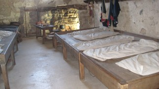 The guard's quarters at Castillo de San Marcos.
