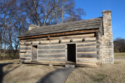 One of the slave cabins at the Hermitage.