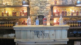 "Boone County's Tanner's Curse was a pretty good ""white whiskey"" - that is the distilled whiskey before entering the oak barrel for aging/morphing into bourbon."