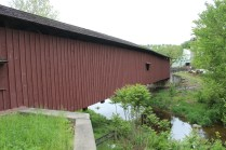 Jackson Mill covered bridge.