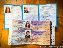 Our trekking permits and national park passes