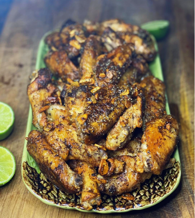 Salt and Pepper Wings