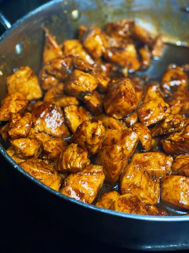Black Garlic Chicken Teriyaki