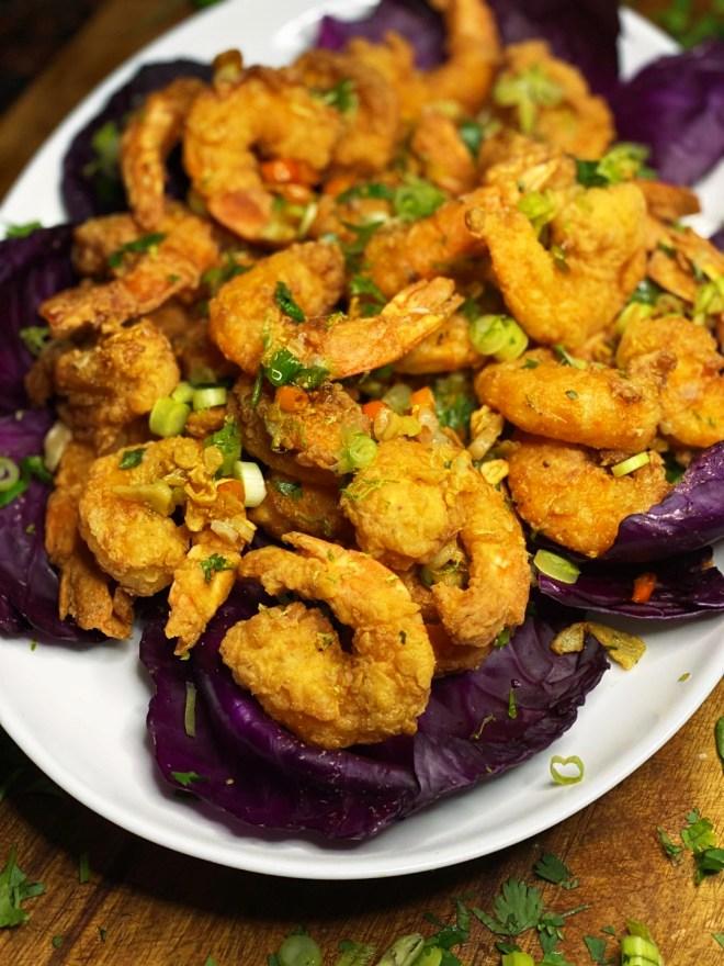Thai Chili + Garlic Fried Shrimp