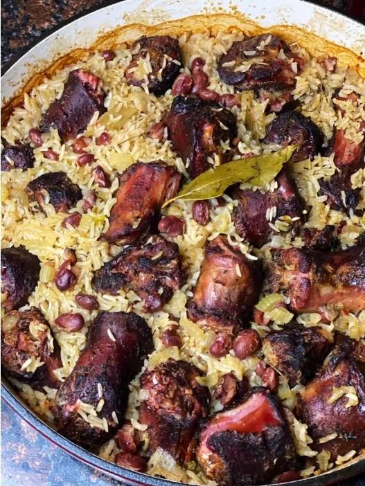 Smoked Turkey Neck + Red Beans & Rice