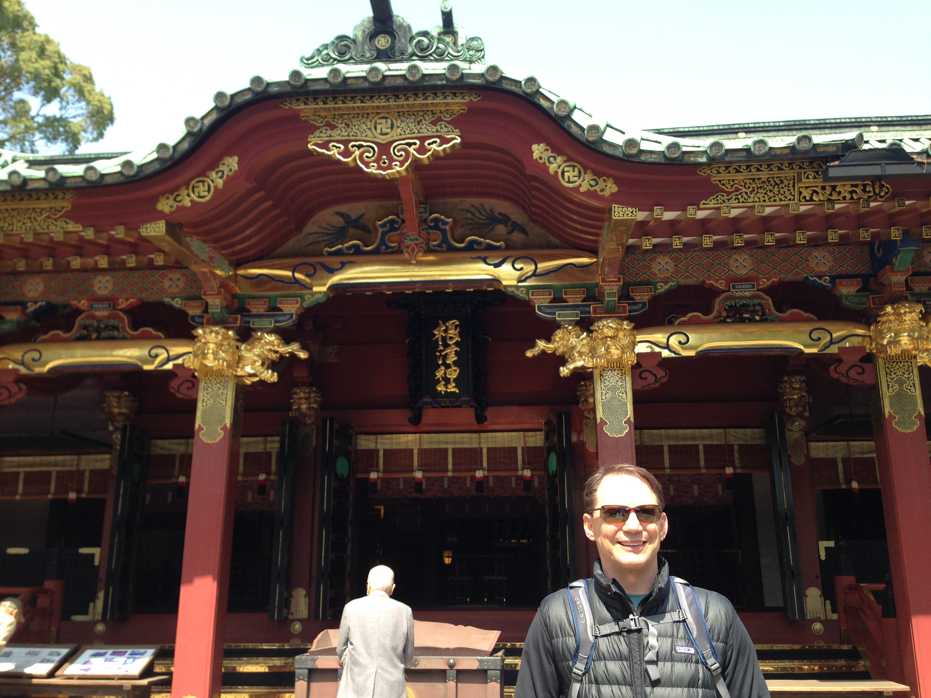 Mark's already seen enough temples; could be a long trip through Bhutan and Nepal!