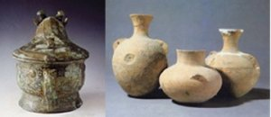 Ancient Chinese wine vases