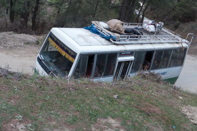 The regional Bhutanese bus.