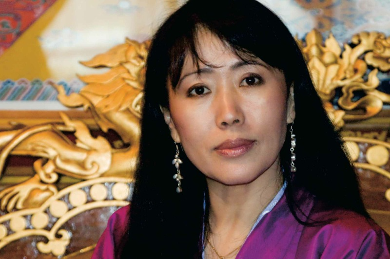 Queen Mother Ashi Dorji Wangmo Wangchuck, eldest wife of the Fourth King.
