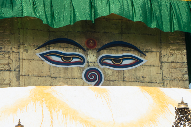 Budda eyes  are so prevalent throughout the country that they have become a symbol of Nepal itself.