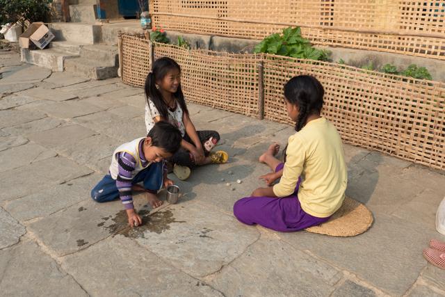 Nepali children at play.