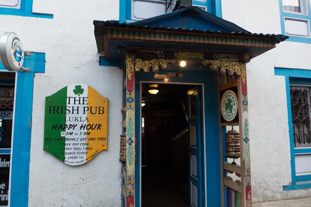 ....and the obligatory Irish Pub.