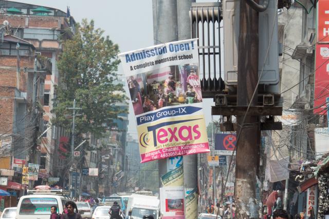 Texas in Kathmandu.