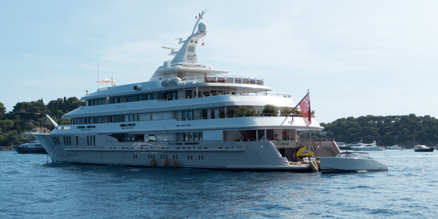 Another yacht.