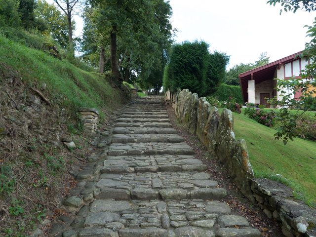 This beautiful stone path led out of Sare.