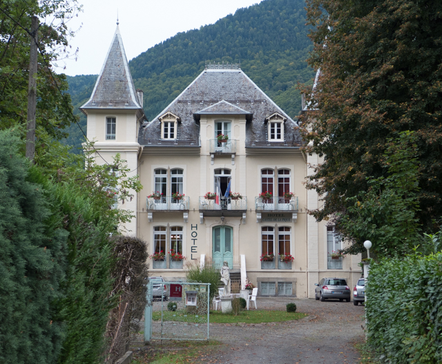 Hotel le Castel de la Pique - our second B&B in Luchon.
