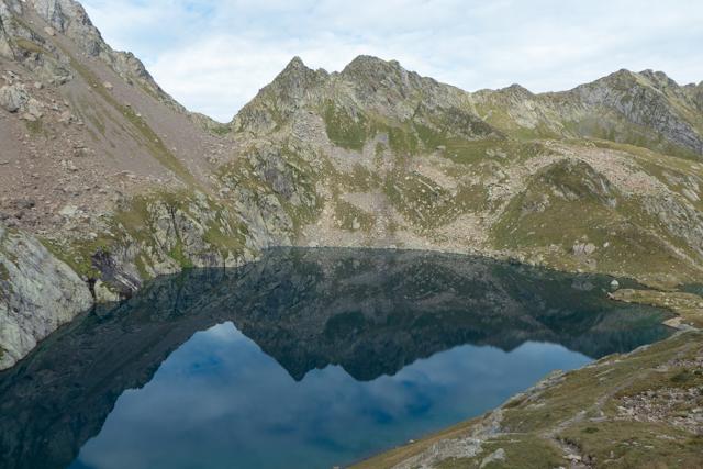 A glacial lake near Port Vénasque.