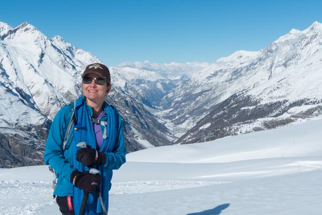 ....and Zermatt behind us.
