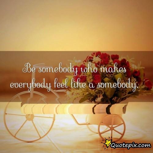 2015.03.26 - Be Somebody