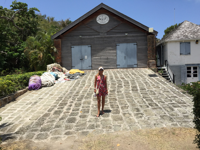 The historical Nelson's Dockyard is a cultural heritage site and marina in English Harbour, Antigua.