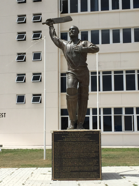 Sir Isaac Vivian Alexander Richards, is a former West Indian cricketer from Antigua. He is regarded as one of the greatest batsmen of all time.