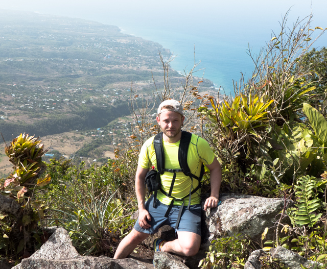 Terrific views from the top of the Gros Piton.