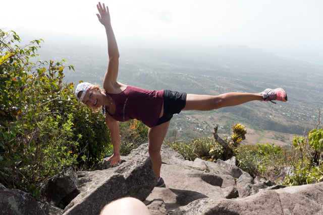 Must. Yoga. At. Mountaintop.