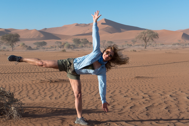 Ok.....quit kidding around.  Lets do some yoga.