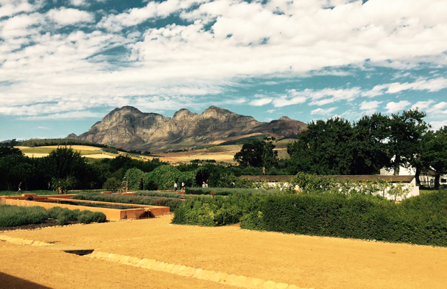 The gardens at Babylonstoren looked to the past for inspiration, taking their cue from the Company Gardens of Cape Town, that supplied passing ships to the Cape with food in the 1600s.