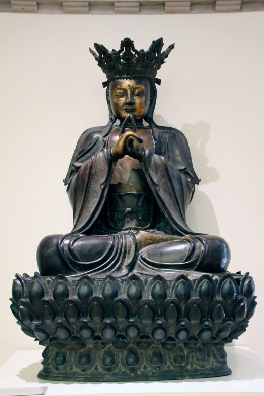 Vairocana, the Buddha of Light, is the supreme manifestation of the Buddha principle.
