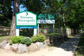 Toronto Necropolis: for all your deadly needs.
