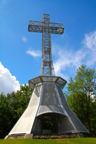 The cross on top of Mont-Royal.