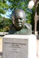 Winston Churchill.