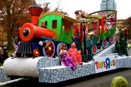 Toy train. Get it?